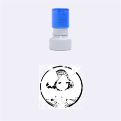 World Peace Rubber Round Stamps (Small)