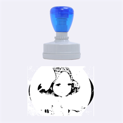 World Peace Rubber Oval Stamps
