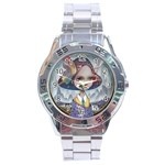 World Peace Stainless Steel Men s Watch Front
