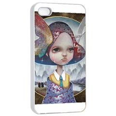 World Peace Apple iPhone 4/4s Seamless Case (White)