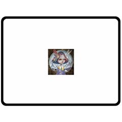 World Peace Double Sided Fleece Blanket (large)