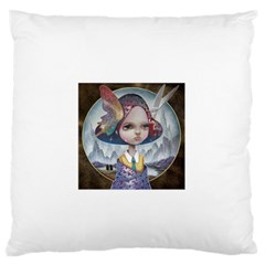 World Peace Large Flano Cushion Cases (Two Sides)