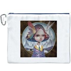 World Peace Canvas Cosmetic Bag (XXXL)