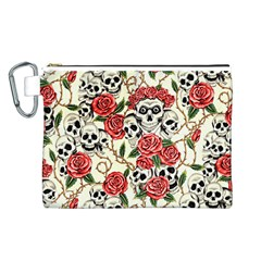 cosmetic m Canvas Cosmetic Bag (Large)