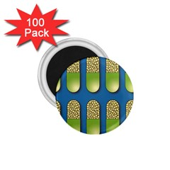 Capsule Pattern 1.75  Magnets (100 pack)