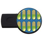 Capsule Pattern USB Flash Drive Round (2 GB)  Front