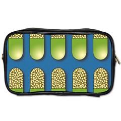 Capsule Pattern Toiletries Bags 2-Side