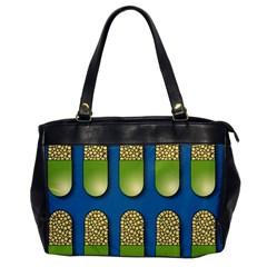 Capsule Pattern Office Handbags