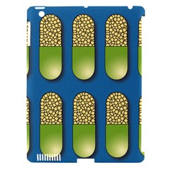 Capsule Pattern Apple iPad 3/4 Hardshell Case (Compatible with Smart Cover)