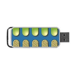 Capsule Pattern Portable USB Flash (Two Sides)