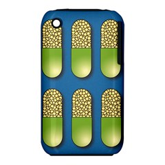 Capsule Pattern Apple iPhone 3G/3GS Hardshell Case (PC+Silicone)