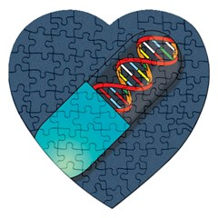 Dna Capsule Jigsaw Puzzle (Heart)