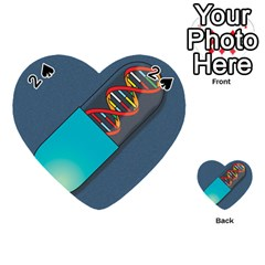 Dna Capsule Playing Cards 54 (Heart)