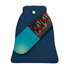 Dna Capsule Bell Ornament (2 Sides)