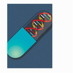 Dna Capsule Large Garden Flag (Two Sides)