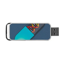 Dna Capsule Portable Usb Flash (two Sides)