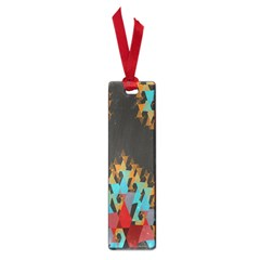 Blue, Gold, and Red Pattern Small Book Marks