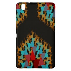 Blue, Gold, and Red Pattern Samsung Galaxy Tab Pro 8.4 Hardshell Case