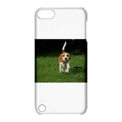 Beagle Walking Apple iPod Touch 5 Hardshell Case with Stand
