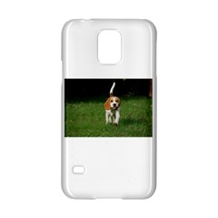 Beagle Walking Samsung Galaxy S5 Hardshell Case