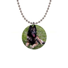 Belgian Tervuren Laying Button Necklaces