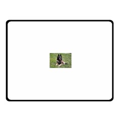 Belgian Tervuren Laying Fleece Blanket (Small)