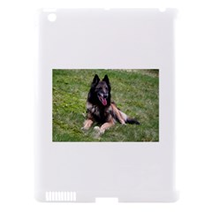 Belgian Tervuren Laying Apple iPad 3/4 Hardshell Case (Compatible with Smart Cover)
