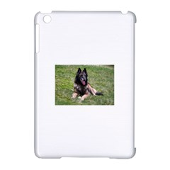 Belgian Tervuren Laying Apple iPad Mini Hardshell Case (Compatible with Smart Cover)