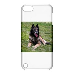 Belgian Tervuren Laying Apple iPod Touch 5 Hardshell Case with Stand