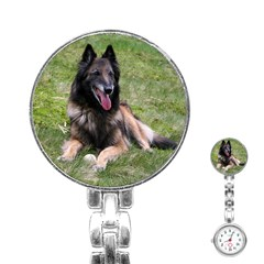 Belgian Tervuren Laying Stainless Steel Nurses Watches