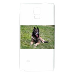 Belgian Tervuren Laying Galaxy Note 4 Back Case