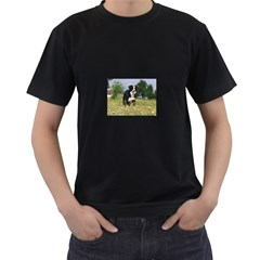 Border Collie Full 3 Men s T-Shirt (Black)