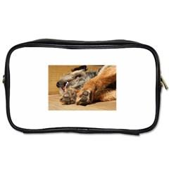Border Terrier Sleeping Toiletries Bags 2-Side