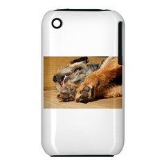 Border Terrier Sleeping Apple iPhone 3G/3GS Hardshell Case (PC+Silicone)