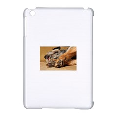 Border Terrier Sleeping Apple iPad Mini Hardshell Case (Compatible with Smart Cover)