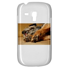 Border Terrier Sleeping Samsung Galaxy S3 MINI I8190 Hardshell Case