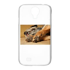 Border Terrier Sleeping Samsung Galaxy S4 Classic Hardshell Case (PC+Silicone)