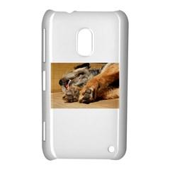 Border Terrier Sleeping Nokia Lumia 620