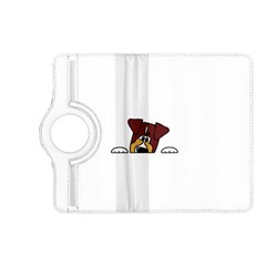 Red Tri Peeping  Aussie Dog Kindle Fire HD (2013) Flip 360 Case