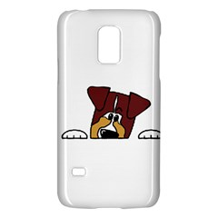 Red Tri Peeping  Aussie Dog Galaxy S5 Mini