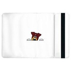 Red Tri Peeping  Aussie Dog iPad Air 2 Flip