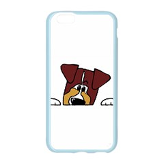 Red Tri Peeping  Aussie Dog Apple Seamless iPhone 6/6S Case (Color)