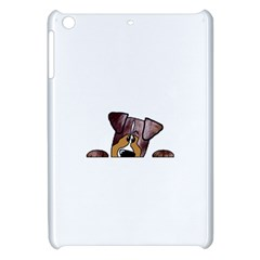 Red Merle Peeking  Aussie Apple iPad Mini Hardshell Case