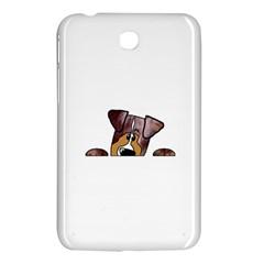 Red Merle Peeking  Aussie Samsung Galaxy Tab 3 (7 ) P3200 Hardshell Case