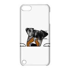 Blue Merle Peeking Aussie Apple iPod Touch 5 Hardshell Case with Stand