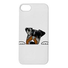 Blue Merle Peeking Aussie Apple iPhone 5S Hardshell Case