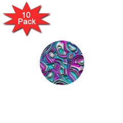 Art Deco Candy 1  Mini Buttons (10 pack)