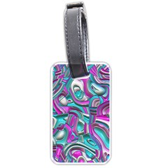Art Deco Candy Luggage Tags (Two Sides)