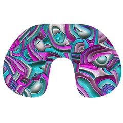 Art Deco Candy Travel Neck Pillows