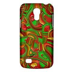 Art Deco Red Green Galaxy S4 Mini